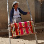 Bolivian Artisan Upright Weaving