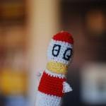 Crochet Duck Finger Puppet