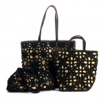 Crochet Overlay Handbags