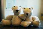 Knit Teddy Bears