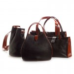 Leather and Patent Bag Collection