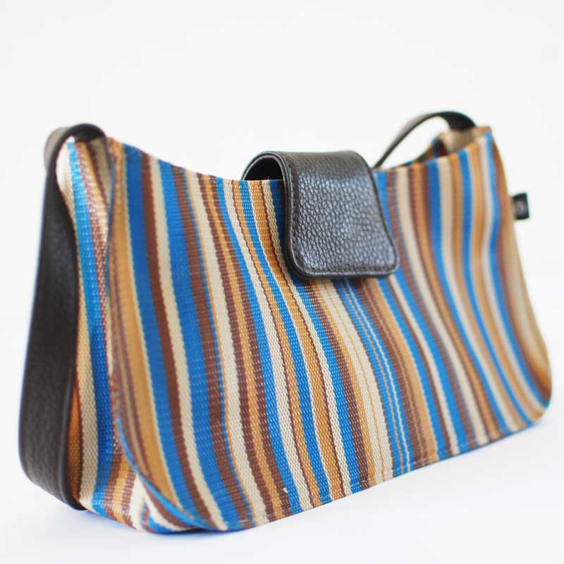 Recyclable Plastic Shoulder Bag Small Purse