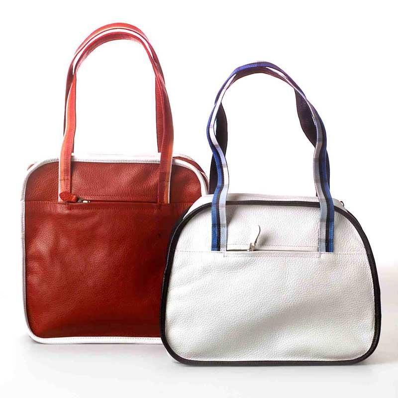 Sporty Leather Handbags