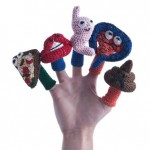 tia anna digestive system finger puppets