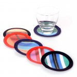 plastic coasters