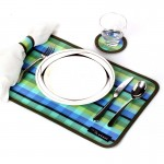 recyclable plastic placemat set